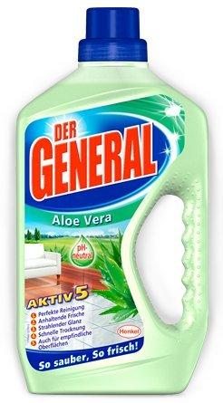 Der General Aloe Vera 8er Pack, (8x750ml)