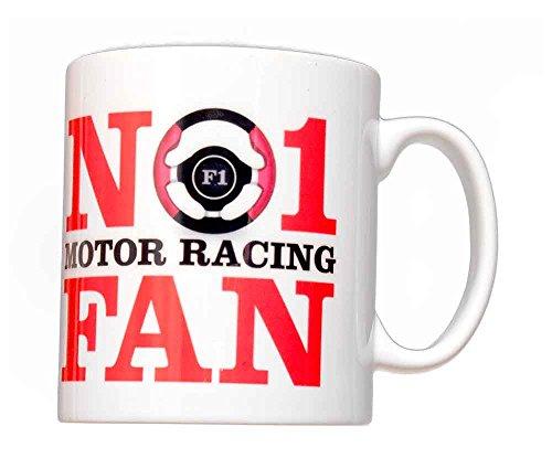 Tasse No 1 Motor Racing Fan