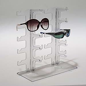 ZNL Porte Lunettes en forme de lunettes Lunettes de soleil Support Étagère pour 10paires kyj03