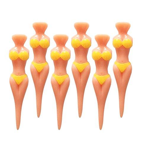 SPLHMILY Bikini Modello Tee da golf, 6pcs Mujer...