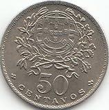 Portugal KM-Nr. : 577 1953 Stgl./unzirkuliert Kupfer-Nickel 1953 50 Centavos (Münzen für Sammler)