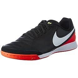 Nike 819215-018, Botas de Fútbol para Hombre, Negro (Black / White-Hyper Orange-Volt), 41 EU