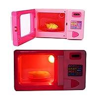 lankai Fashion Simulation Kitchen Microwave Oven Kids Toy