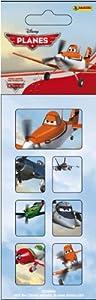Planes - Hoja de Pegatinas 2-en-1 (Panini 700038-4a-0713)