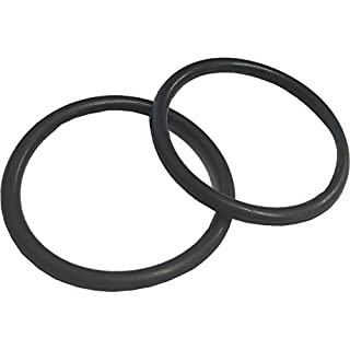 Merriway M7472-(2).1 Bulk Hardware Replacement 'O' Rings for Metal Basin Plugs and Pop-Up Waste 38mm (1.1/2 Inch) Black Pack of 2