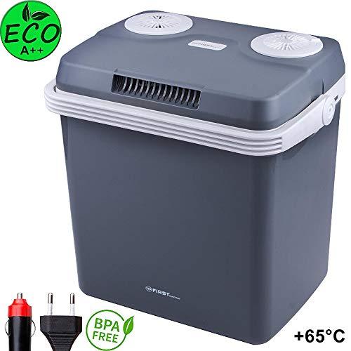 Glacière 32 litres électrique | pour maintenir au chaud ou refroidir | Glacière thermoélectrique 12 Volt et 230 Volt | Mini-réfrigérateur | Glacière électrique camping | Glacière voiture |