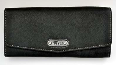 Fossil IL25029001 Damen Geldbörse Leder schwarz Olivia