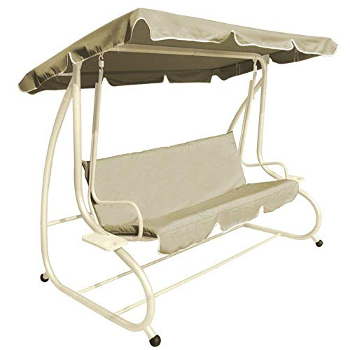 BB Sport Amaca Doppia con Supporto con 2 Cuscini Dimensioni Telo 240x140 cm carico Massimo 300 kg per 2 Persone