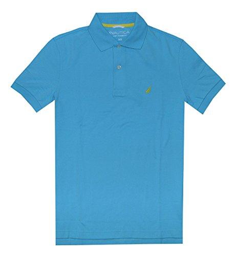 Nautica Herren Poloshirt Hellblau