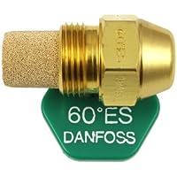 Danfoss Aceite Despedida Hervidor Quemador Boquilla 0.40 x 60 ES USgal/h ° Grados Espray Estampado 0.4 Calefacción Jet 1.20 Kg/h 1.2