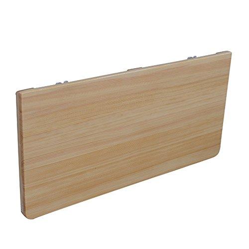 Zhuozi FUFU Wandhalterung Wand-Klapptisch, Klappküche & Esstisch Schreibtisch, Kindertisch 16Größen Drop-Blatt-Tabelle (Farbe : Solid wood, größe : - Auf Auf Sie Blatt Schreiben Klammern