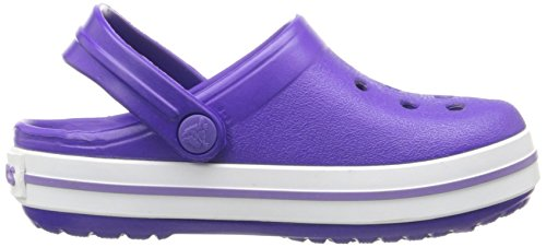 Crocs Crocband UV/Whi, Zoccoli Unisex – Bambini Viola (Ultraviolet/White)