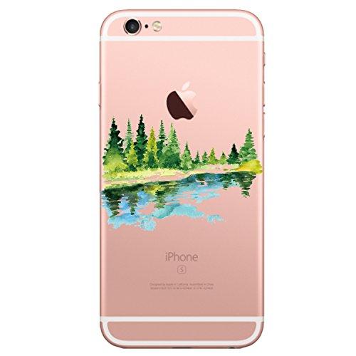 Qissy Coque iPhone 6s, Ultra-Thin Coque pour Apple iPhone 6/6S Silicone Étui Housse Transparent Souple TPU Protecteur Exact Fit Soft Etui Coque pour iPhone 6/6s Plus (iPhone 6plus/6splus 5.5, G)