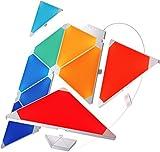 Nanoleaf Aurora panneaux LED-Aurora est nécessaire [16millions de couleurs. Plug and Play iOS (compatible Apple Kit Home) & Android] [Classe énergétique A], Plastique, Bunt, Integriert, 2 wattsW