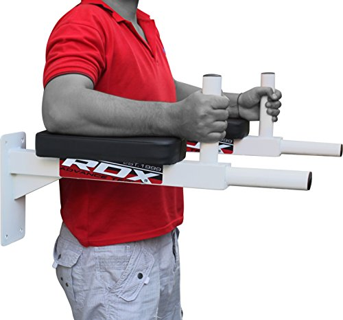 RDX-Wall-Mounted-Dip-Bar-Abdominal-Padded-Dipping-Station-vertical-knee-Raise-Bend-AB-Crossfit