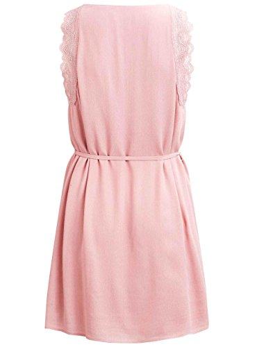 Vila Damen Kleid Visession Dress/Dc Rose