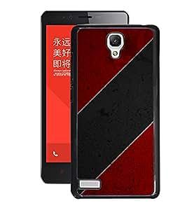 Fuson 2D Printed Colour Pattern Designer Back Case Cover for Xiaomi Redmi Note 4G - D795