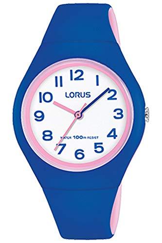 Lorus kids orologio Unisex Analogico al Al quarzo con cinturino in Poliuretano RRX01GX9
