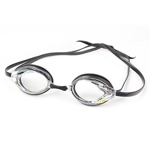 ZAOSU Optische Schwimmbrille mit Sehstärke zur Korrektur von Kurzsichtigkeit | Inklusive Anti-Fog...