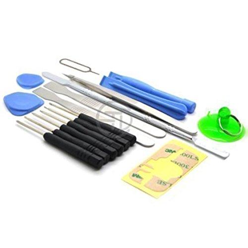 ACENIX® - 17 in 1 Reparatur Öffner Werkzeug Kit Schraubenzieher Set für iPhone 3,3GS,4,4S,5, iPad iPod iTouch PSP NDS & HTC , Alle Smartphones Universal Werkzeug Kit