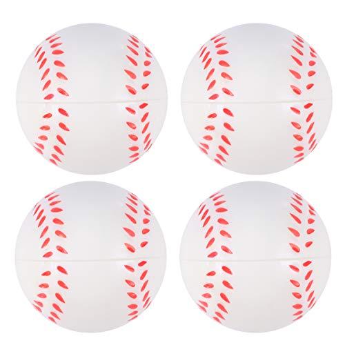 Amosfun 8pcs PU Baseball Mini weiche Sportbälle Thema Party Spiel Bälle Spielzeug für Kinder Kleinkinder