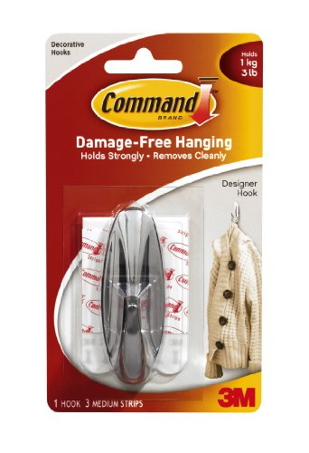 command-medium-hook-with-command-adhesive-strips-in-chrome-colour-pack-of-4