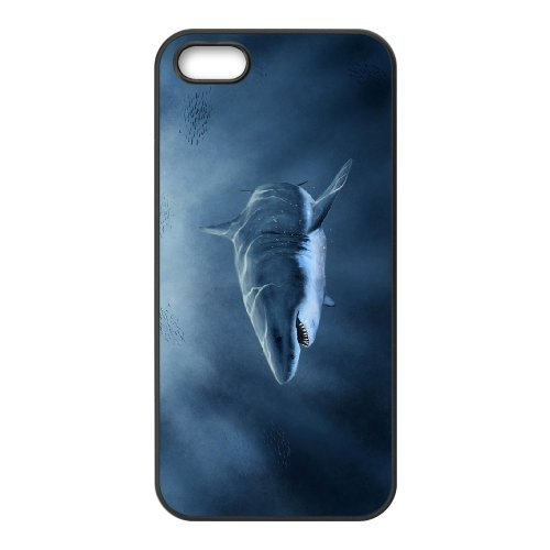 LP-LG Phone Case Of Deep Sea Shark For iPhone 5,5S [Pattern-6] Pattern-3