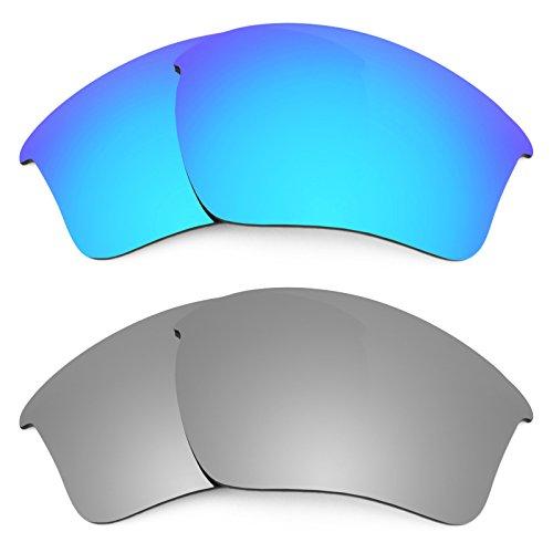 Revant Ersatzlinsen für Oakley Half Jacket 2.0 XL Polarisiert 2 Paar Kombipack K004