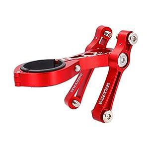 Breeezie Fahrrad Doppel Flaschenhalter Sitz Adapter Einstellbare Fahrradlenker Wasserkocher Halter Post Converter