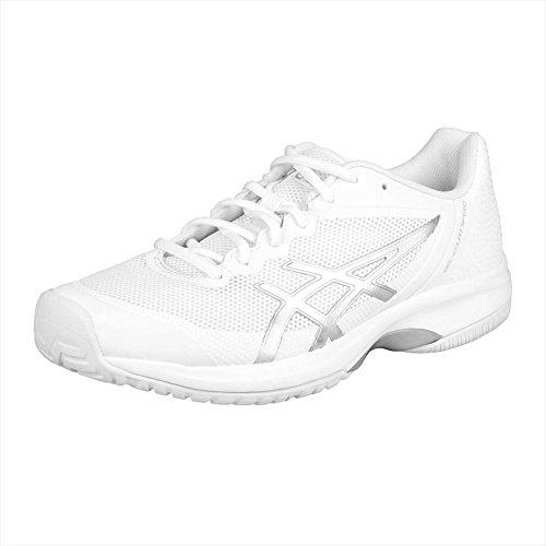 Chaussures De Tennis Asics Gel Court Speed pour Homme Blanc / Argent