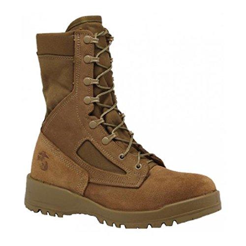 Belleville Men's 550 St USMC Hot Weather Steel Toe Boot (EGA) -160R (Boot Toe Steel Usmc)