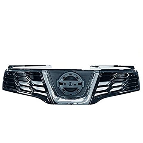Genuine Nissan Qashqai / Qashqai +2 Black Front Bumper Grille. New. 62310BR00A