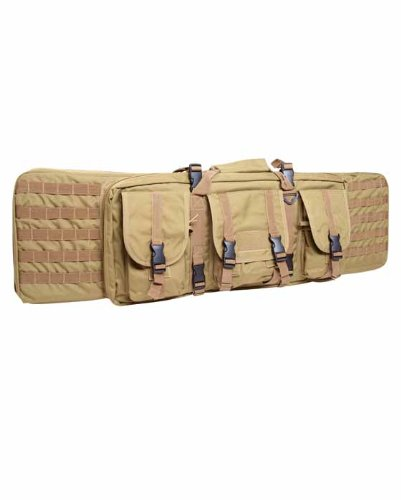 Mil-Tec Large Rifle Case Tactical Padded Gun Bag MOLLE Airsoft Shooting Hunting Coyote