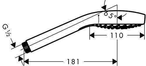 Hansgrohe Croma Select S Vario Handbrause, 26802400 -