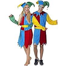 Disfraz de Bufón Adulto Especial para Fiestas de Disfraces y Carnaval Talla  Unica 24a7cc7817a