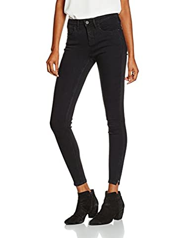 ONLY onlKENDELL ETERNAL ANKLE BLACK NOOS, Jeans Femme, Noir (Black), 36/L32 (Taille fabricant: