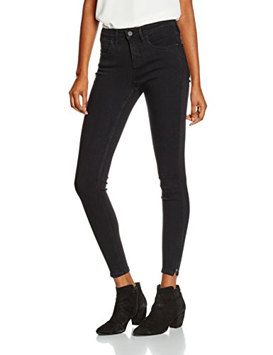 ONLY Damen Jeanshose Onlkendell Eternal Ankle Black Noos