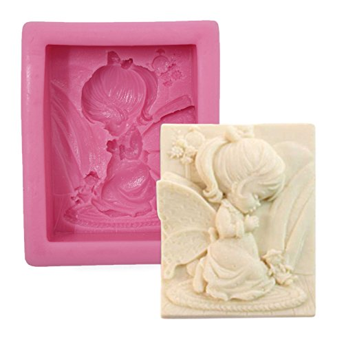 Asian Hobby Crafts Silicone Resin Gumpaste Fondant Clay Marzipan Cake Mould: Design : Doll