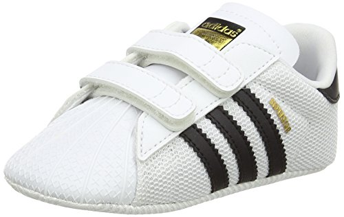 Adidas Superstar Crib, Zapatillas Unisex bebé, Blanco Footwear White/Core Black/Footwear White 0...