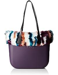 O bag Damen Evs00_tes33_fas28_ecs00 Shopper, Rot (Melanzana), 39 x 31 x 14 cm