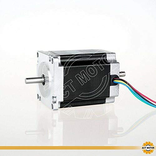 DE-SHIP FREE 1PC 23HS8630B Nema23 Stepper Motor Unipolar 76mm 270oz-in Round Shaft Dual Shaft 3.0A 1.8° CNC OEM ACT MOTOR GmbH