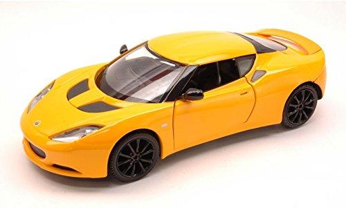 lotus-evora-s-2010-yellow-124-mondo-motors-auto-stradali-modello-modellino-die-cast