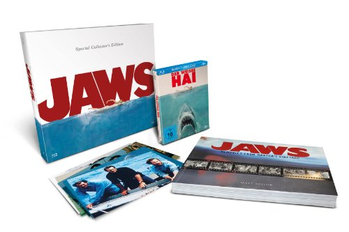 Der weiße Hai (Steelbook - Special Collector's Edition mit engl. Bildband)