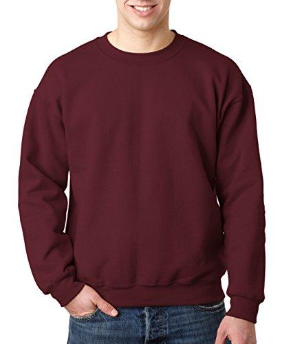 Gildan Herren Sweatshirt Heavy Blend 18000 Maroon L