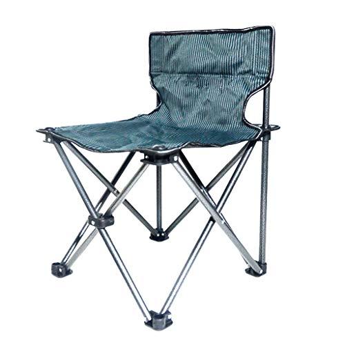 YL Tragbarer Camp Chair, Heavy Duty LendenrüCkenstüTze üBergroßEr Quad-Sessel Gepolstert, Faltendes Deluxe, FüR Outdoor, Reise, Strand, Picknick, Festival, UnterstüTzt 286 Lbs solide -