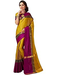 Indian Beauty Cotton Saree with Blouse Piece