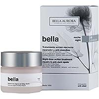 Bella Aurora, Bella Noche. Crema  acción noctura reparadora y anti-manchas -50ml