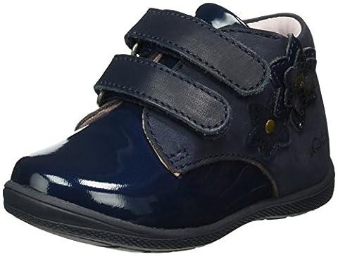 Aster Gilly, Baskets Basses Fille, Bleu-Bleu (10), 25