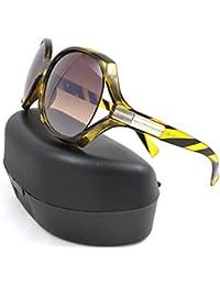 EFASHIONUP Oval Women Sunglasses (58 mm_Black)