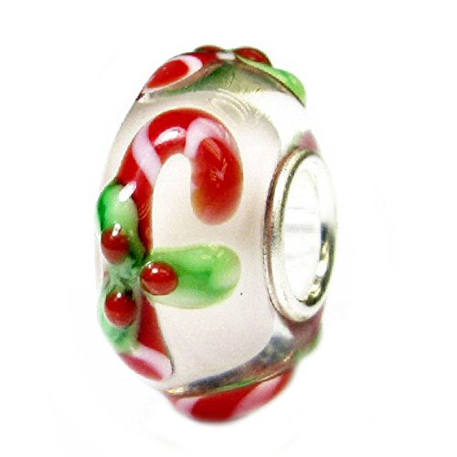 Queenberry Sterling Silver Candy Stick Christmas European for sale  Delivered anywhere in Ireland